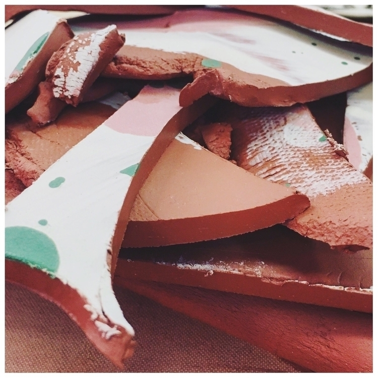 Beautiful clay scraps - workinprogress - whimandvigor | ello