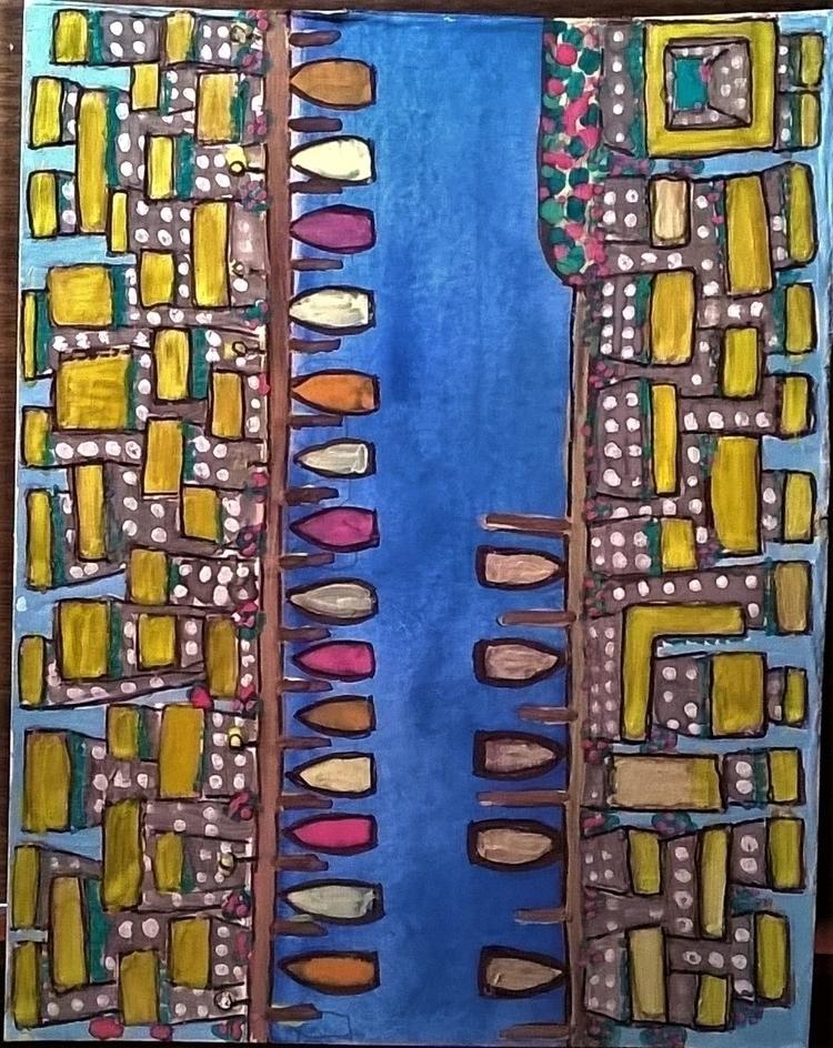 hive 6x9 watercolor - donebyme, art - teerivsaid   ello