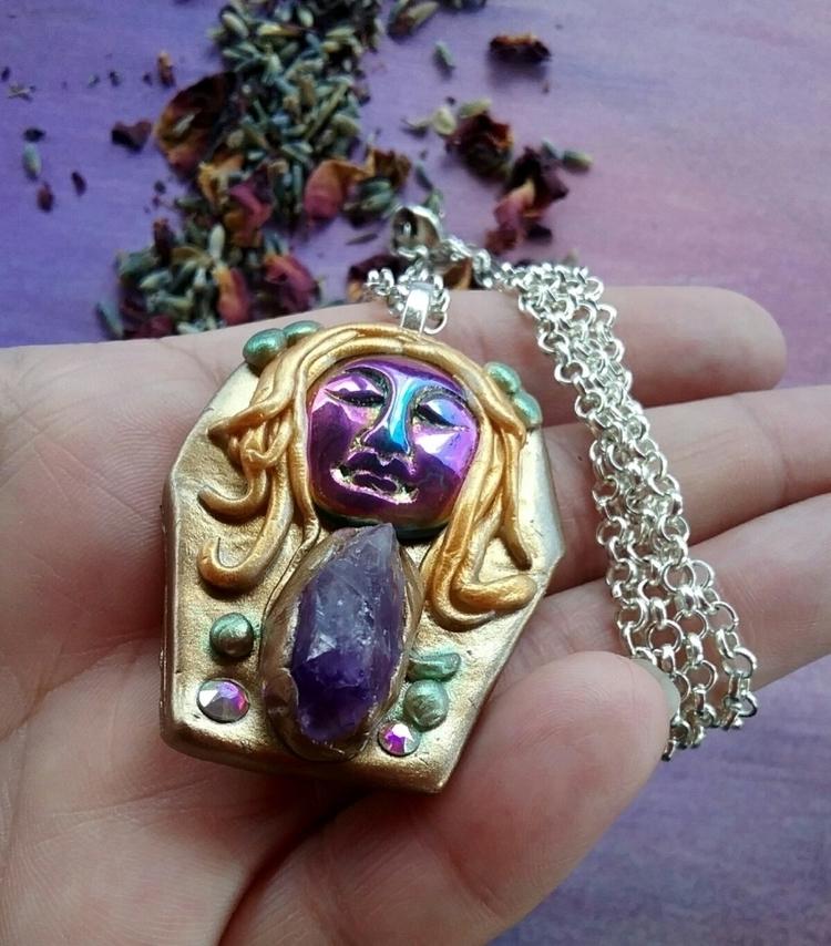 goddess, weirdjewelry, bohemian - almosdesigns | ello