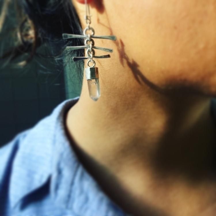 Tibetan quartz earrings - pangaiajewels - pangaiajewels | ello