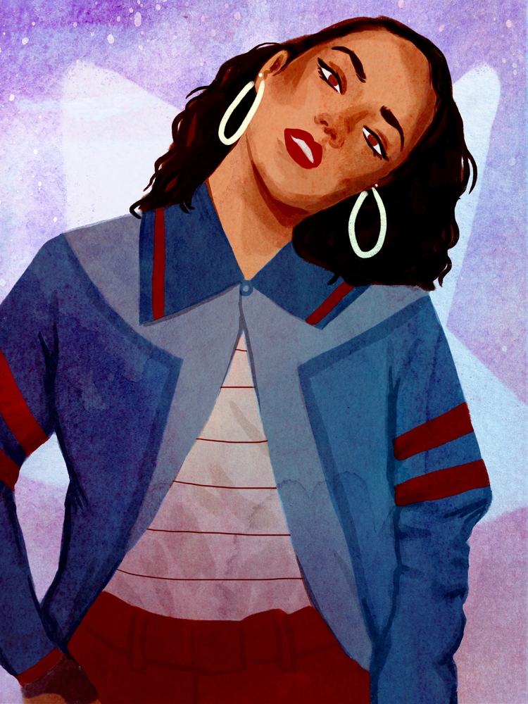 America Chavez - americachavez, fanart - cariguevara | ello