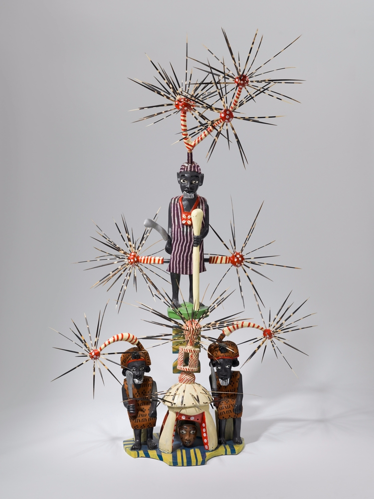 John Goba shrine Chiefs, 2010 P - blackartmatters | ello