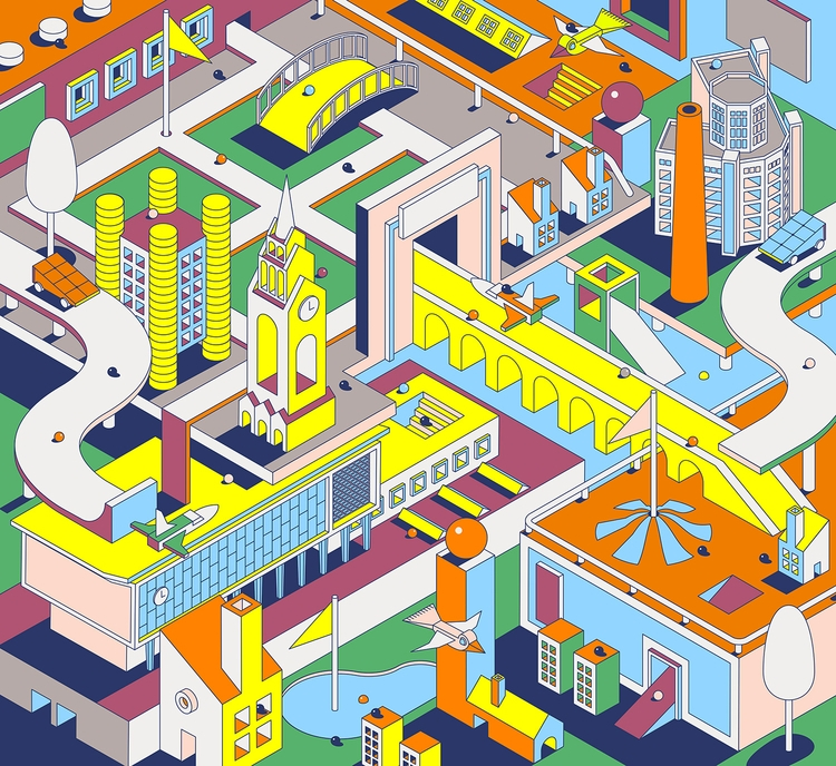 spatial worlds Johan Moorman re - bldgwlf | ello