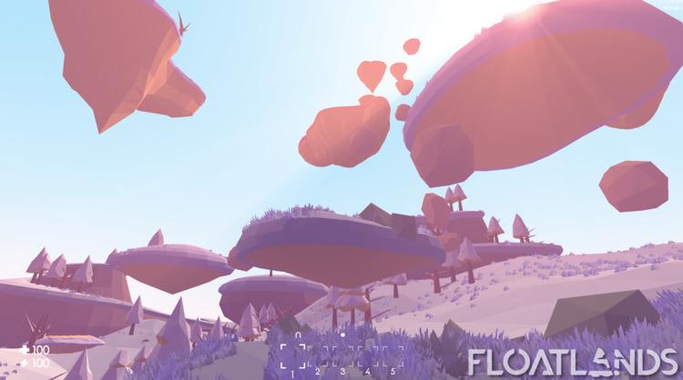 floating islands - 3D, gaming, design - floatlands | ello
