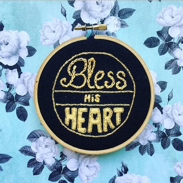 embroideryart, embroideredpatch - crossthepop   ello