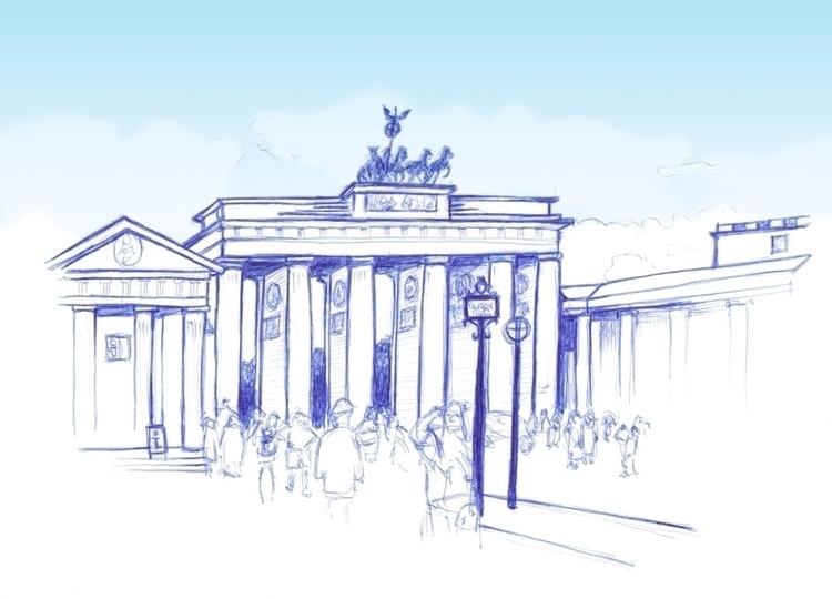 city trip Berlin means making b - geertjadoul | ello