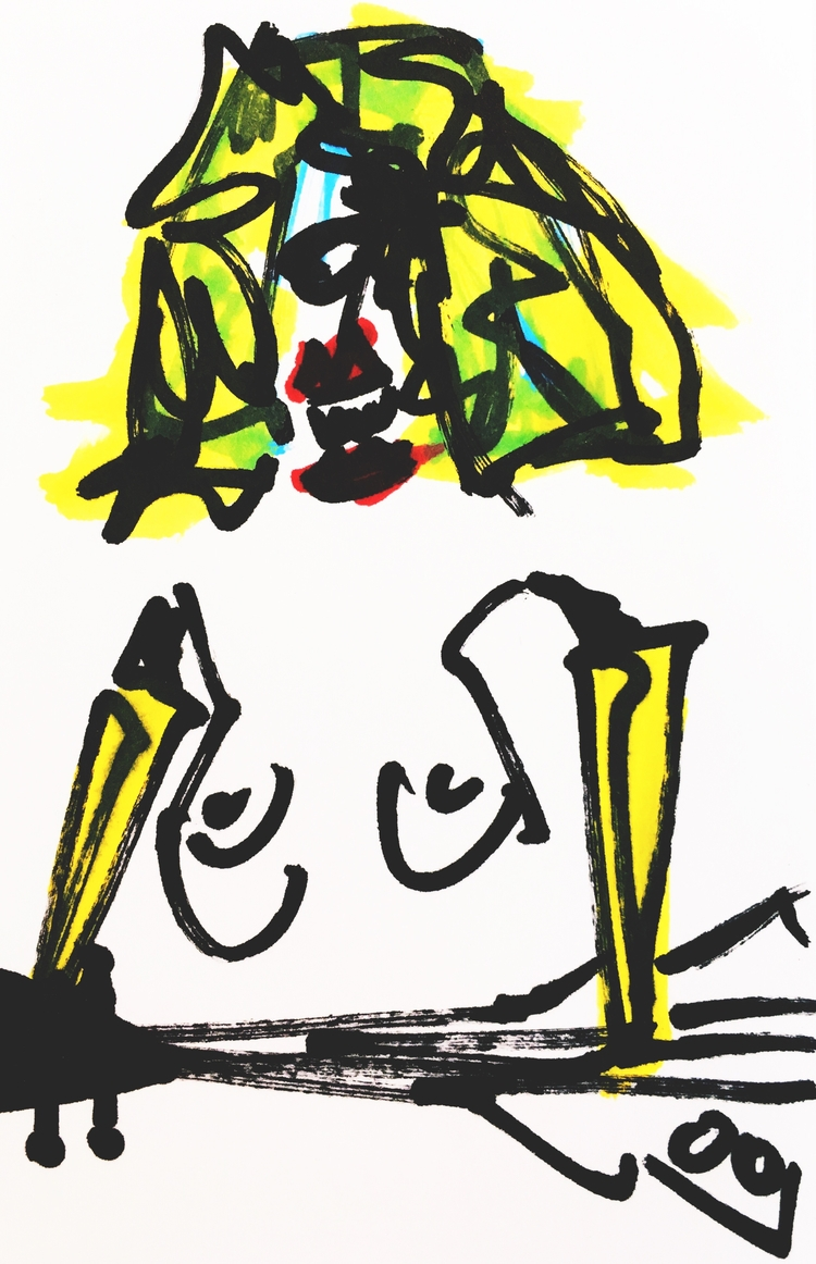 Banana-Arm Guitarist Tiger Teet - jkalamarz | ello