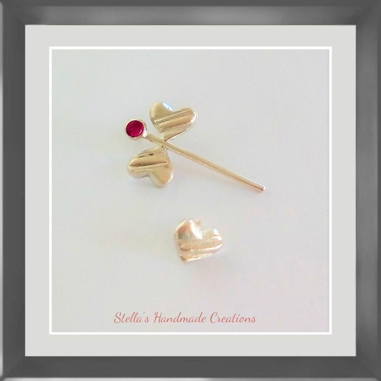 stylish mismatched pair earring - stellasjewelryart | ello