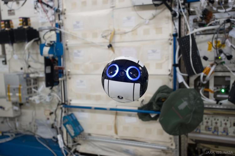 Int-Ball Drone Activated Space  - valosalo | ello