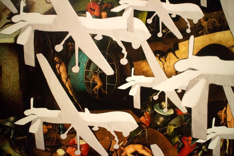 art, printing, set, kunst, drones - ivicacapan | ello