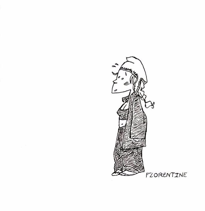 FLORENTINE - Encre de chine - ink - alister-owl | ello