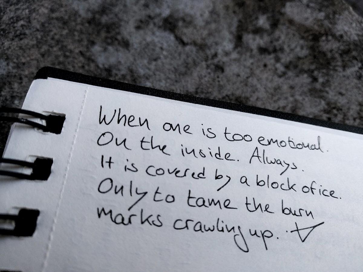 weaknesses - poem, vispo, writing - victoriainthewoods | ello