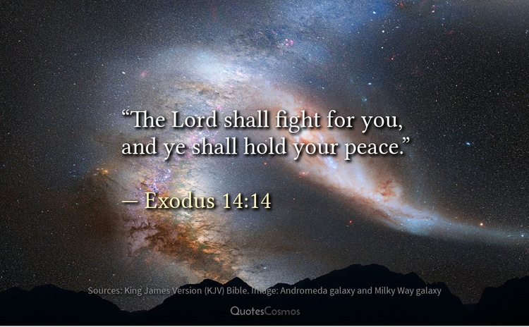 "Lord fight ye hold peace."" — Mo - quotescosmos 