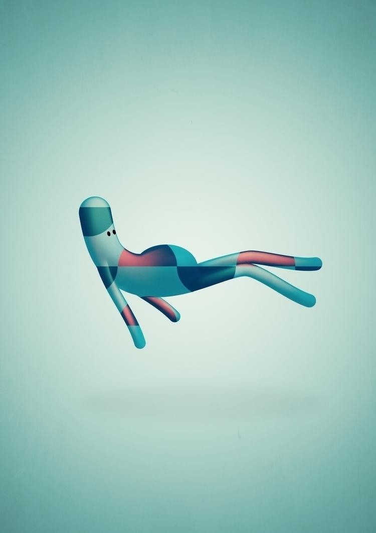 essere volante - marcopuccini, illustration - marcopuccini | ello