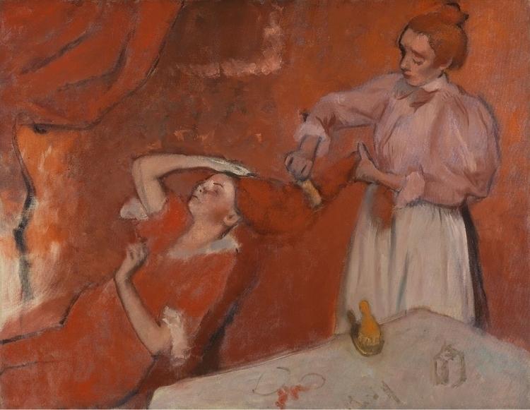 Combing Hair Degas - masters, degas - bitfactory | ello