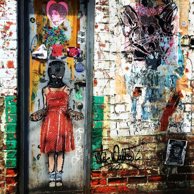 Riot Girl Brooklyn, York 2014  - dainahodgson | ello