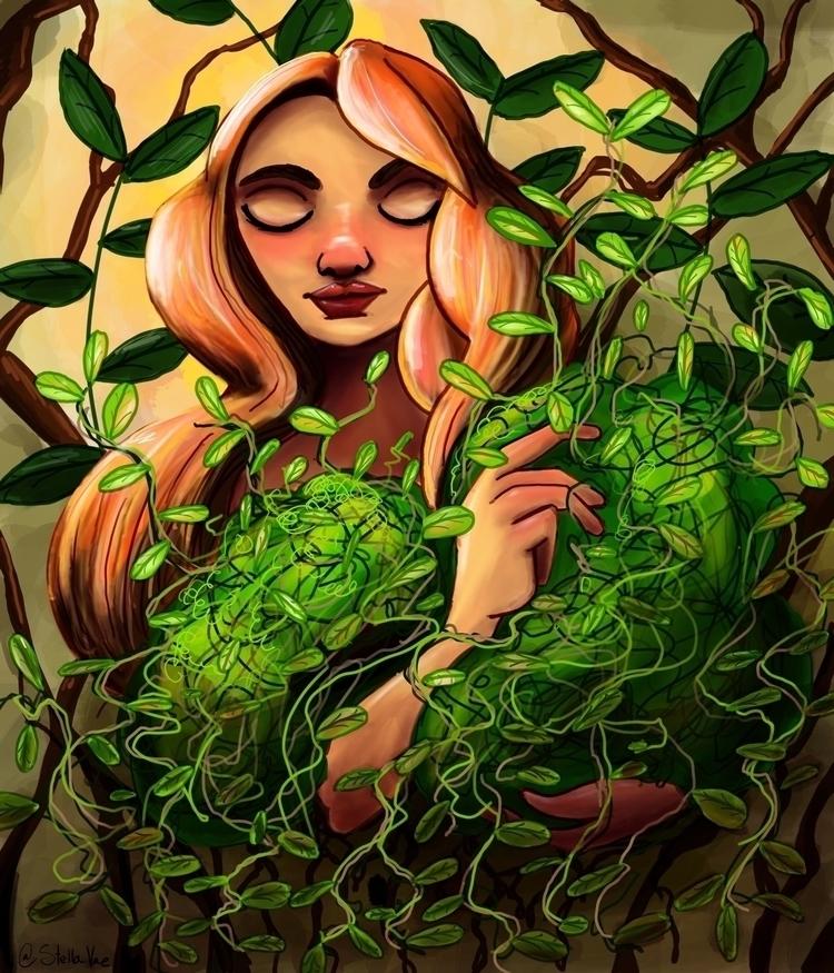 girl entangled - stellavae | ello