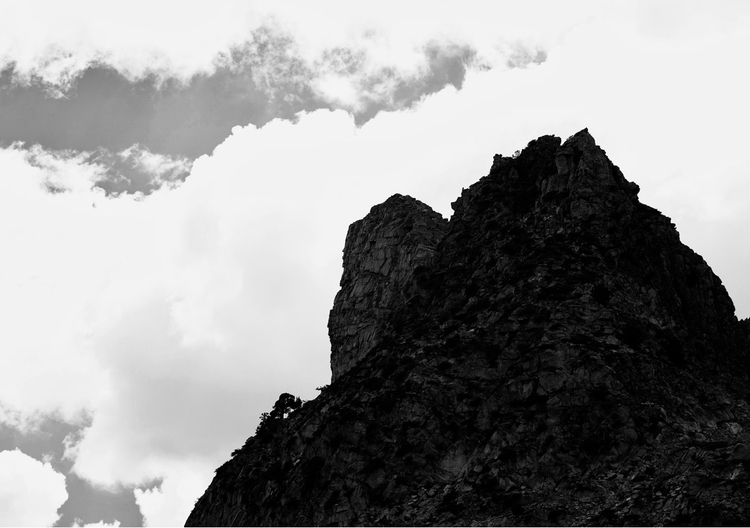Hwy 120 Yosemite, CA - monochrome - kevinbiram | ello