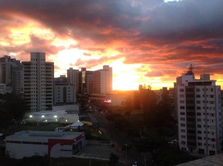 sunrise - sky, art, sun - isaacmeira | ello