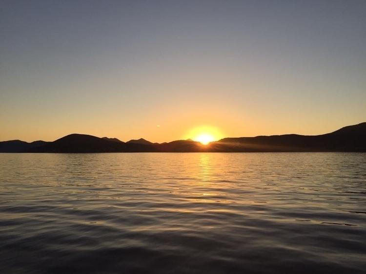 lost notebook - sunset, landscape - isabelrobles | ello