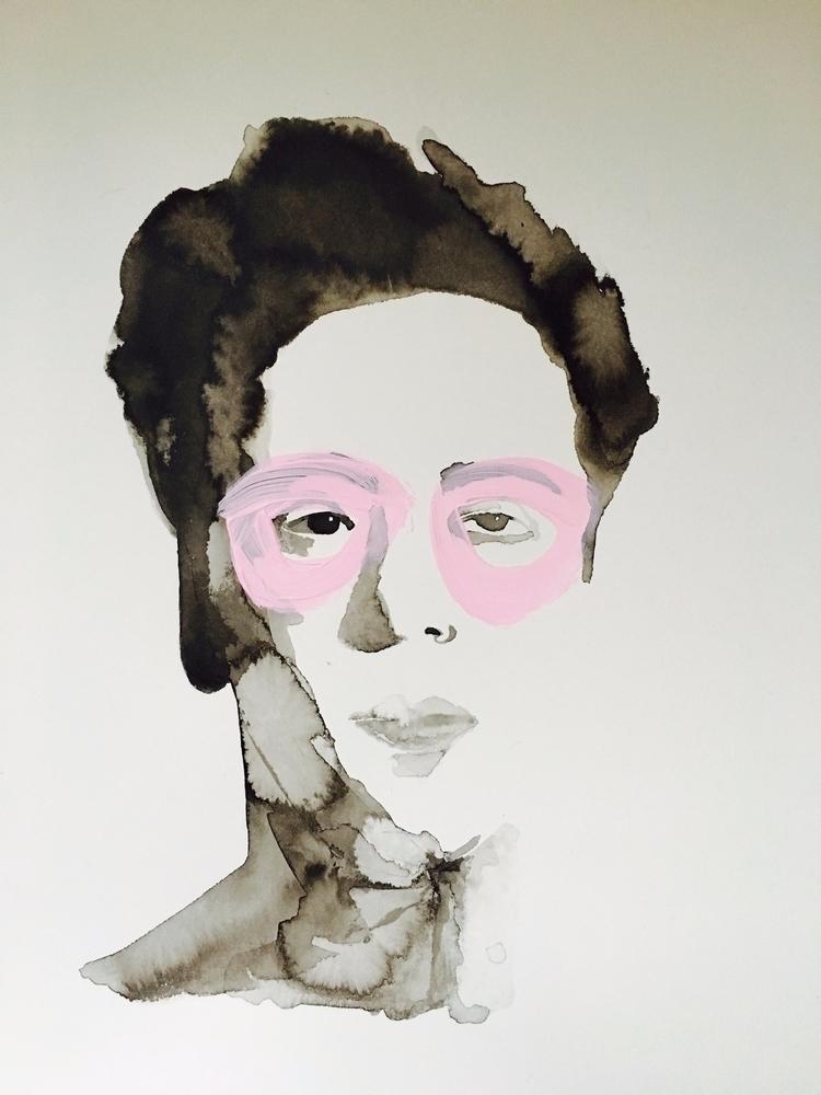 'Serie watercolours' Title: Tit - degann | ello