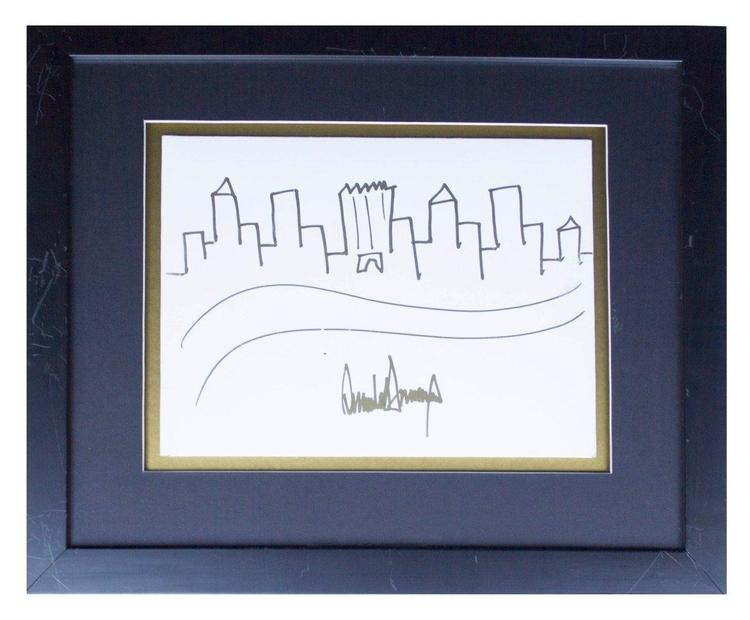 تابلو نقاشی رئیس جمهور آمریکا ا - negarestanhonar | ello