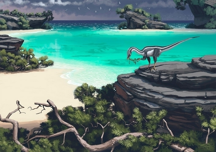 Art Simon Stalenhag - dinosaur, dinosaurs - dinosaursart | ello