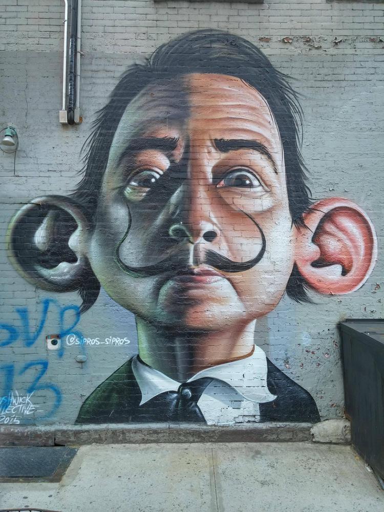 Salvador Dalí - Brazilian stree - lilavert | ello