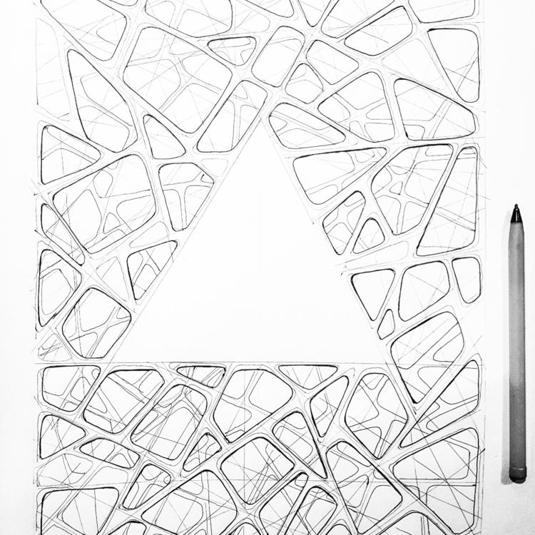 triangulation, 2017 Gautier Ber - gautierberthoumieux | ello