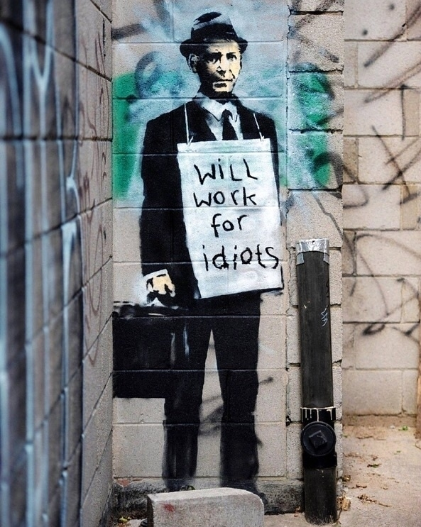 Love  - Banksy, StreetArt, stencilart - bitfactory | ello