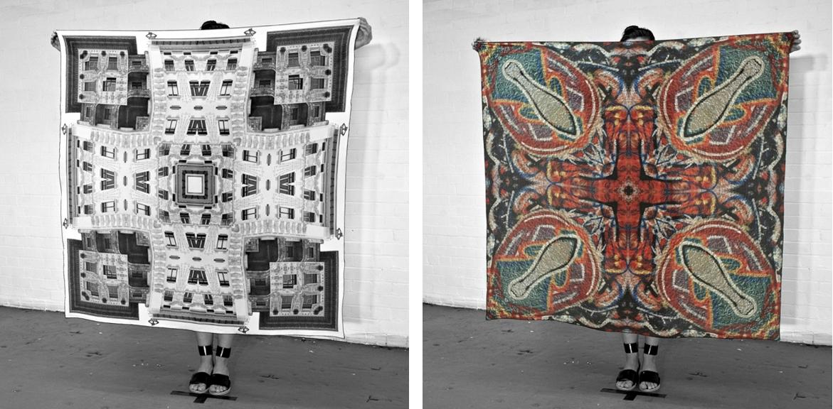City Stone Silk scarf collectio - gemmaland | ello