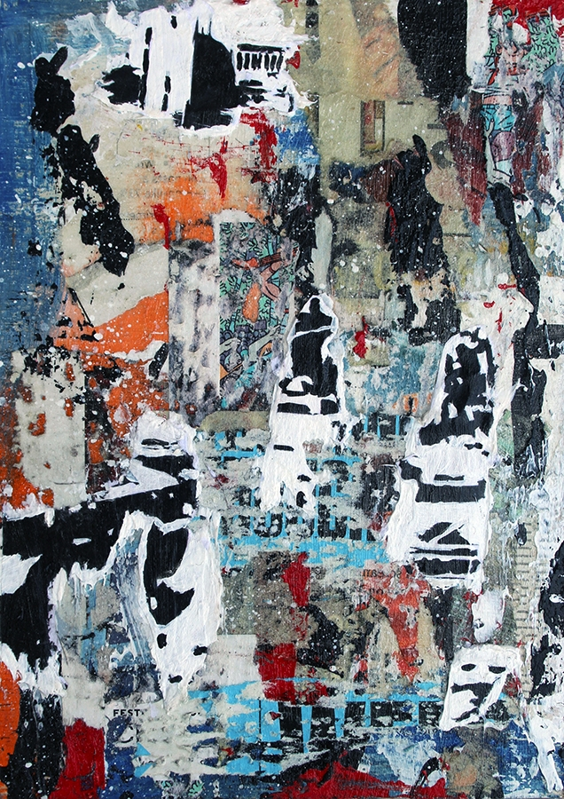 Title: Abstract NYC 6 Medium: A - damionismyname | ello