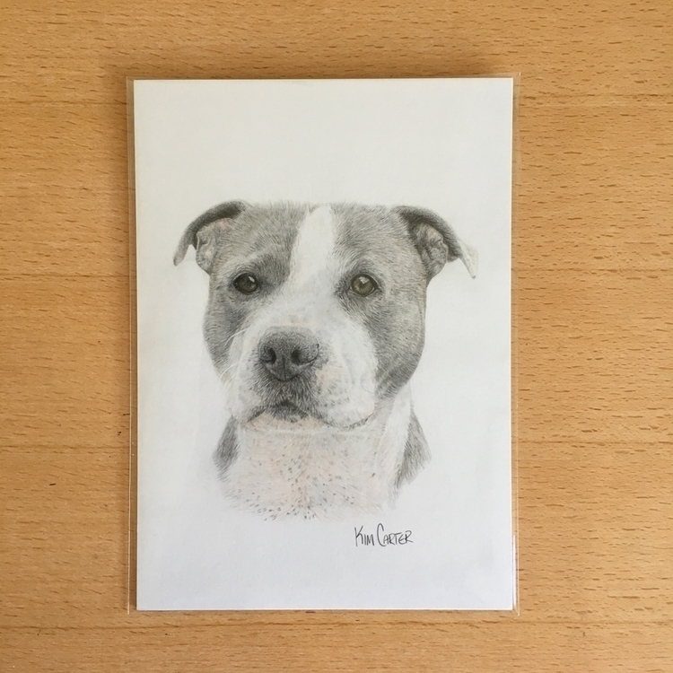 Handsome Arnie :dog::two_hearts - kimcarter_art | ello