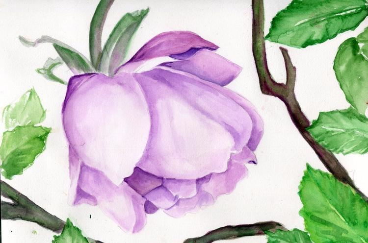 Enchanted Forest Watercolor Cot - havekat | ello