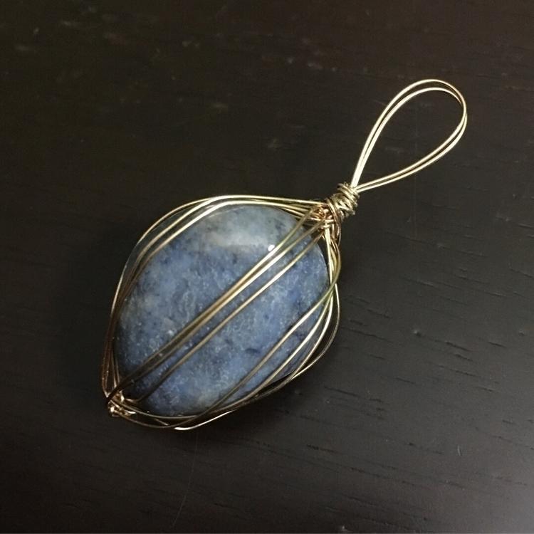Dumortierite Handcrafted wire w - maggies0817 | ello