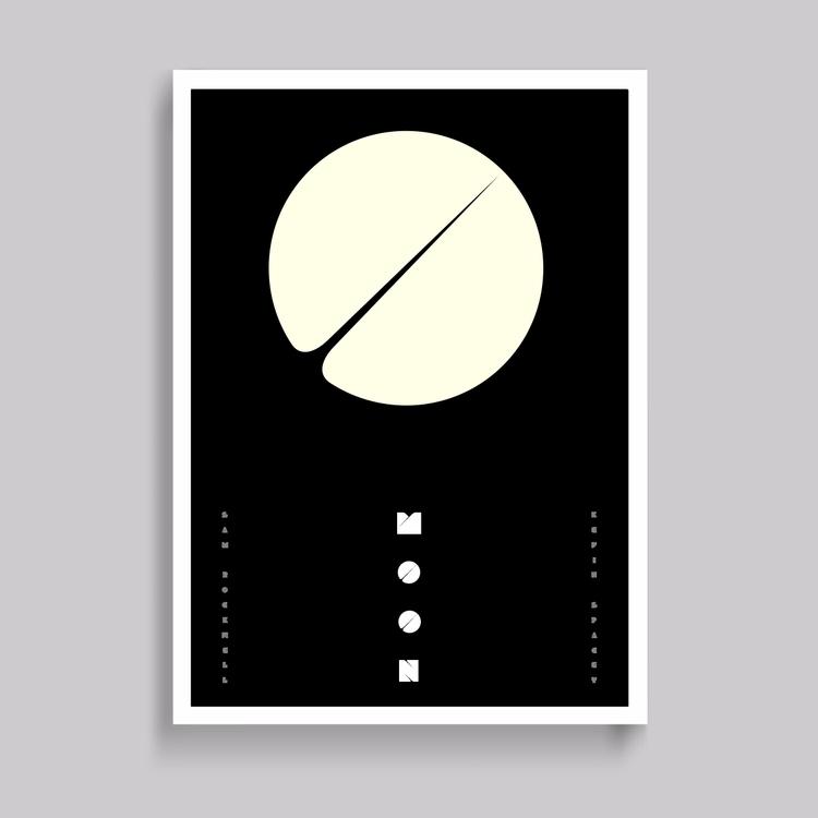 TBT. Moon film poster idea prom - superfried | ello