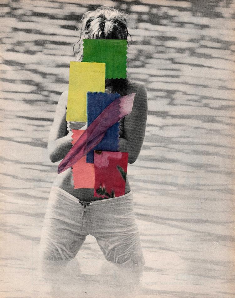 - 25,5x32,2 cm Paper collage - collageart - claire_martine_ | ello