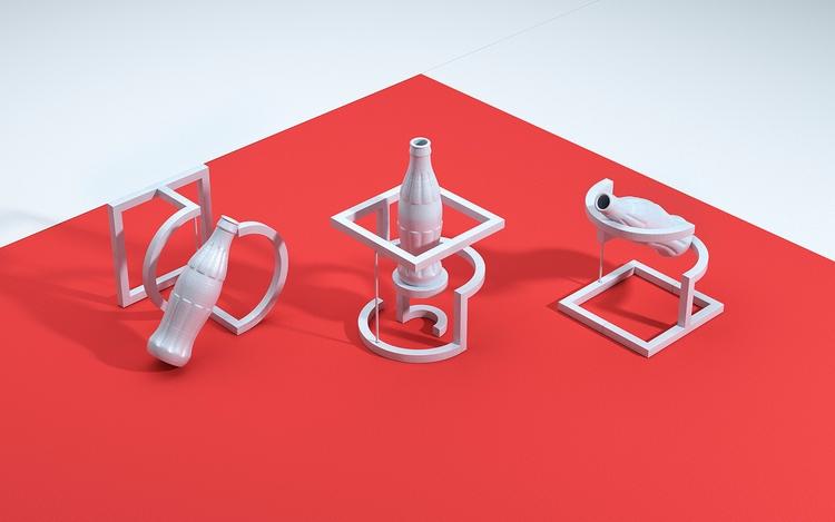 Coca-Cola 3D Print - jvgstudio | ello