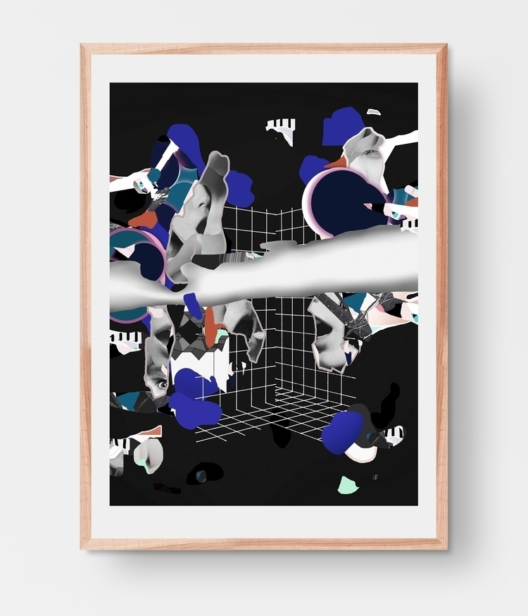 unsaid,, collage,, illustration, - cityabyss | ello
