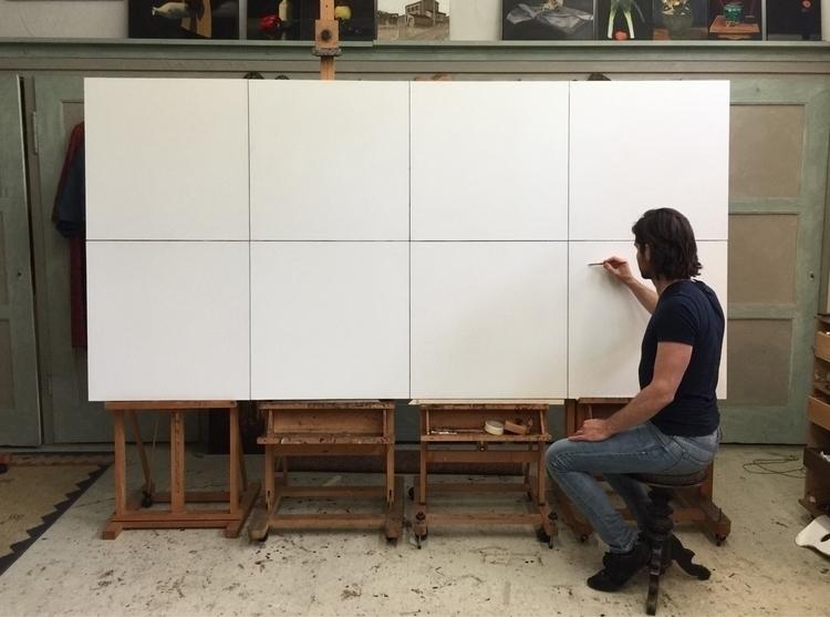 wip, painting, drawing, atelier - daannoppen | ello