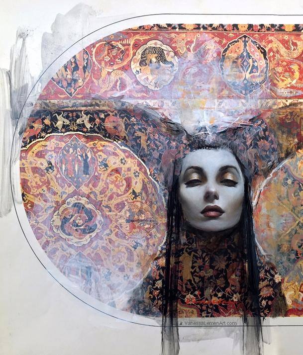'Runa' Vanessa Lemen Day Origin - geekynerfherder | ello