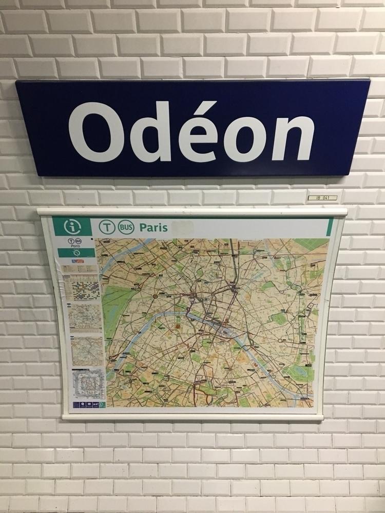 Metro 10 ⇢ Ségur - Odéon, Paris - rowiro   ello