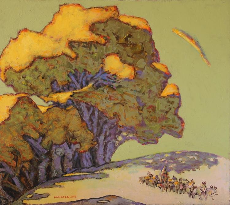 Ramazan Useinov, Golden poplars - n2ngallery_uae | ello