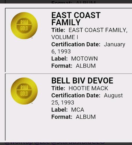 Won 2 RIAA Awards Records recor - markpain | ello