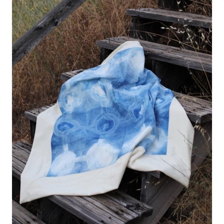 Handmade Blanket wool hand dyed - entropyalwayswins   ello