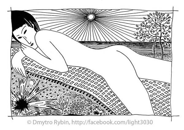 Graphic picture based Modiglian - dmytroua | ello