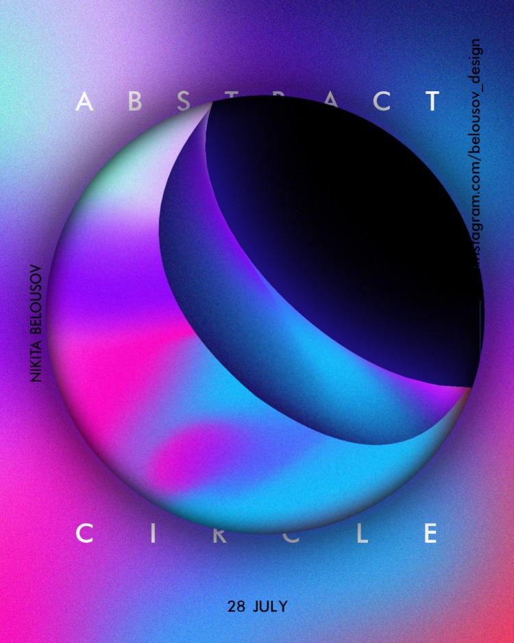 art, abstract, design, poster - belousov_nikita | ello