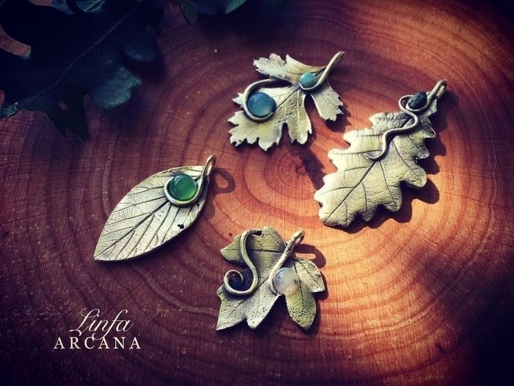 handmade silver pendant week Et - linfa | ello