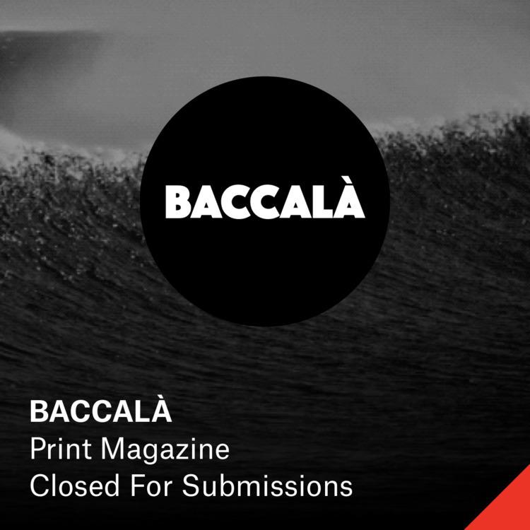 BACCALÀ — Submission Details Su - elloartistinvites | ello