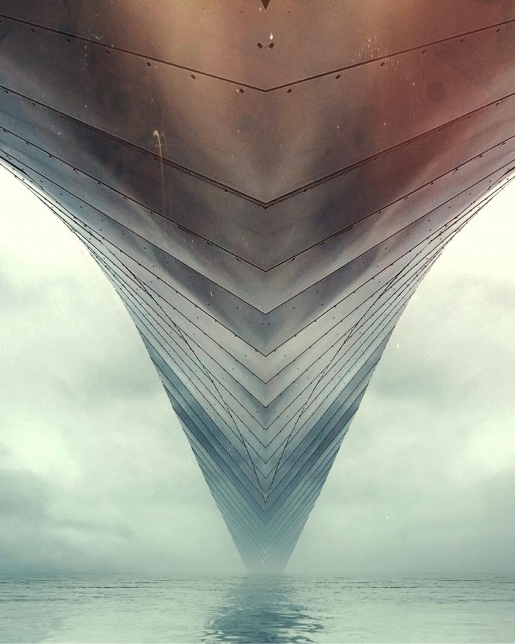 Leviathan - art, digital, digitalart - mike_n5 | ello